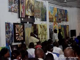 Exposition à Kinshasa (Radio Okapi)