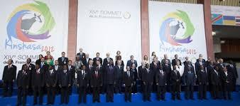 Lors de la XIV sommet de la Francophonie à Kinshasa (Google)