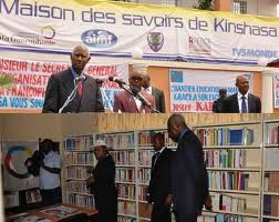 A. Diouf inaugure la Maison des saviors a Kinshasa (Google)