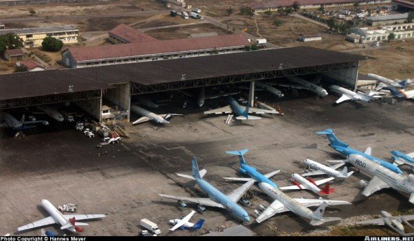 Aéroport international de N'djili (Google)