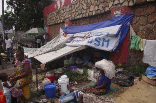 Article : Les expulsés de Brazzaville à Kinshasa : C'est l' enfer quotidien