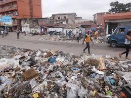 Une décharge de déchets a Kinshasa (Google)